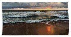 A Sunrise Over Kitty Hawk Beach Towel