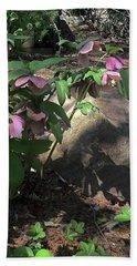 A Touch Of Pink Beach Sheet