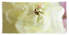 Beach Towel featuring the photograph A Touch Of Pink by Wendy Wilton