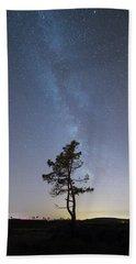 A Tree Beach Towel