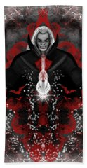 A Vampire Quest Fantasy Art Beach Sheet