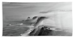 Beach Towel featuring the photograph A View Of Gods by Jorge Maia