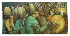 A Viking Skirmish Beach Sheet