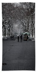 Beach Towel featuring the photograph A Walk In The Park by Anthony Fields