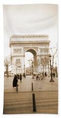 A Walk Through Paris 3 Beach Sheet