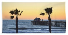 Beach Towel featuring the photograph A Warmer Place To Be by AJ Schibig