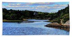 Beach Sheet featuring the photograph A Water View Newport Ri by Tom Prendergast