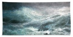 a wave my way by Jarko Beach Towel