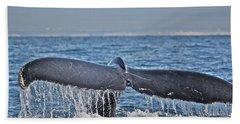 A Whale Of A Tale Beach Sheet