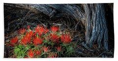 A Wild Bouquet Beach Sheet