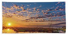 A Wildlife Paradise Marvel Sunrise Beach Sheet