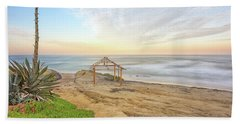 A Windansea Morning Beach Towel by Joseph S Giacalone