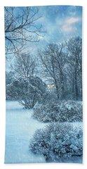 A Winters Tale Beach Sheet