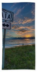 A1a Sunrise Beach Towel