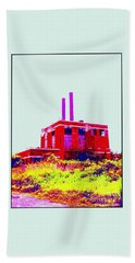 Beach Sheet featuring the photograph Abandoned Industrial Power Plant No 2 by Peter Gumaer Ogden