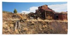 Abandoned Vindicator Valley Mine Beach Towel