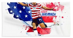 Abby Wambach Beach Towel