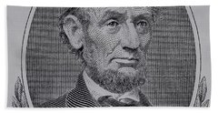 Beach Towel featuring the photograph Abe On The 5 Gray by Rob Hans
