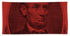 Beach Towel featuring the photograph Abe On The 5 Orange by Rob Hans