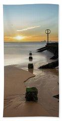 Aberdeen Beach Reflections Beach Towel