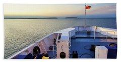 Aboard The Chi-cheemaun Beach Sheet