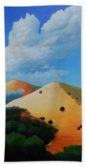 About Clouds Beach Towel