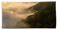 Beach Sheet featuring the photograph Above The Mist - D009960 by Daniel Dempster