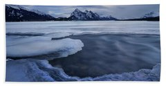 Abraham Lake Sans Bubbles Beach Sheet
