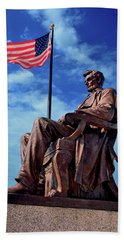 Abraham Lincoln Birthplace 002 Beach Sheet by George Bostian