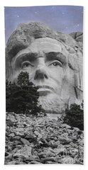 Abraham Lincoln Beach Towel by Juli Scalzi