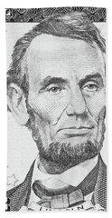 Beach Sheet featuring the photograph Abraham Lincoln by Les Cunliffe
