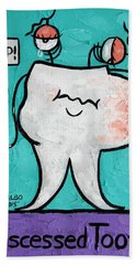 Abscessed Tooth Beach Towel