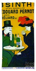 Absinthe Extra-superieure 1899 Beach Towel