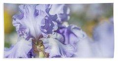 Absolute Treasure 1. The Beauty Of Irises Beach Towel