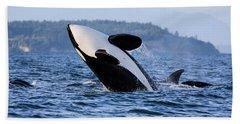 Absolutely Free - Whale Art Beach Sheet