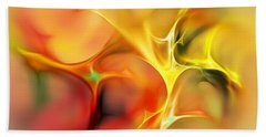 Abstract 061410a Beach Towel