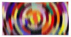 Abstract 120116 Beach Towel by Maciek Froncisz