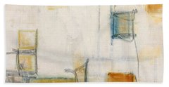 Abstract 1207 Beach Towel by Gallery Messina