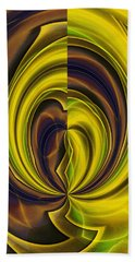 Abstract 121510 Beach Towel