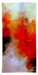 Beach Towel featuring the digital art Abstract 1909f by Rafael Salazar