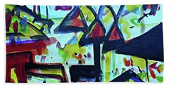 Abstract-27 Beach Towel