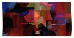 Abstract 33017-2 Beach Towel by Maciek Froncisz