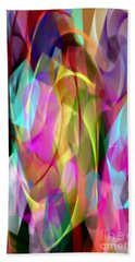 Beach Towel featuring the digital art Abstract 3366 by Rafael Salazar