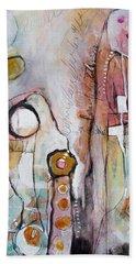 Abstract 39 Beach Sheet by Karin Husty