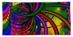 Abstract 523 Beach Towel