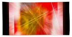 Abstract 530-2016 Beach Towel by John Krakora