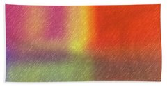 Abstract 5791 Beach Towel