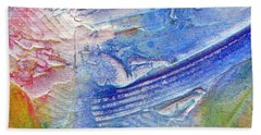 Beach Towel featuring the painting Abstract 6 by Tracy Bonin