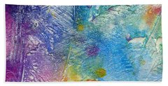 Beach Towel featuring the painting Abstract 7 by Tracy Bonin