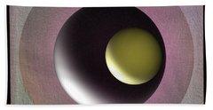Abstract 702-2015 Beach Sheet by John Krakora